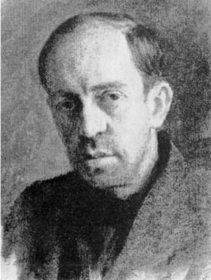 Александр Иванович Лактионов. Портрет архитектора В.Д.Кирхоглани