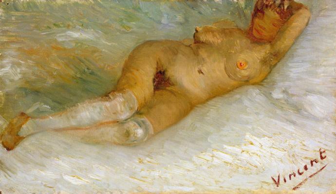 Vincent van Gogh. Reclining Nude (Agostina Segatori)