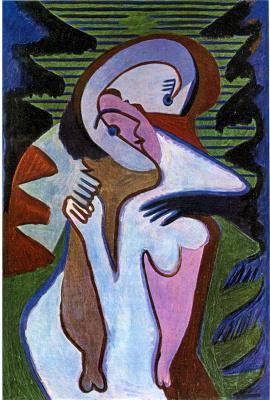 Ernst Ludwig Kirchner. Kiss