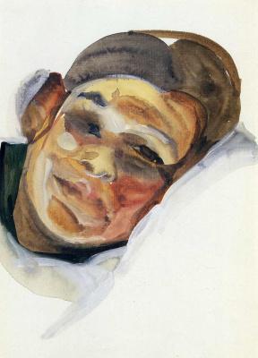 Lucien Freud. Face