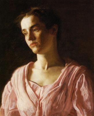 Thomas Eakins. Portrait Of Maud Cook