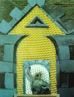 Сальвадор Дали. Лаокоон, терзаемый мухами