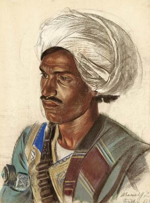 Alexander Yakovlev. Afghan. Etude. May 31, 193