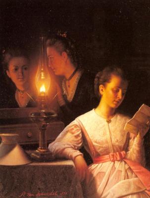 Петрус ван Шендел. Письмо