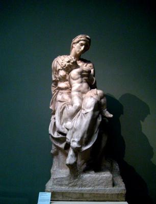 Michelangelo Buonarroti. Madonna Medici
