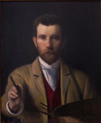 Yudel Pen. Self-portrait