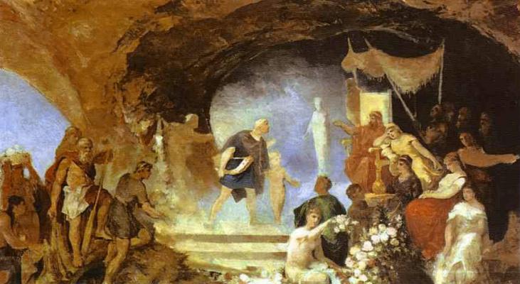 Генрих Ипполитович Семирадский. Орфей в подземном царстве