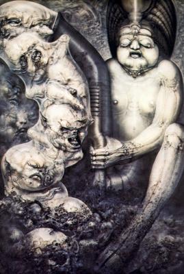 Hans Rudolph Giger. Necronomium