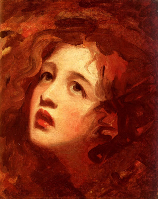 George Romney. Portrait