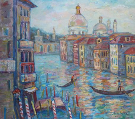 Oksana Viktorovna Zalevskaya. Venice.