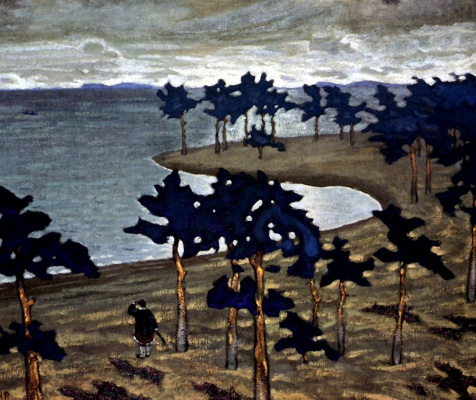 Nicholas Roerich. Antiquity. Sketch