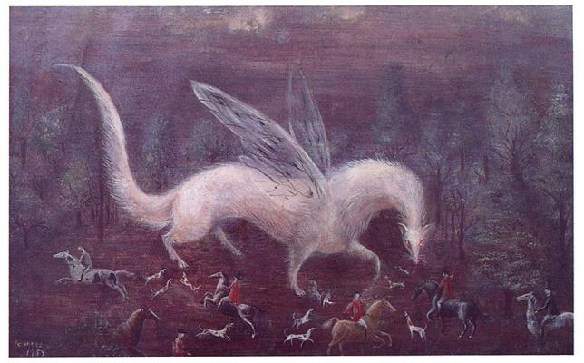 Леонора Каррингтон. Охота на горностая