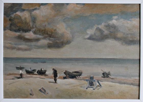 Victor Andreevich Chepurko. Everyday life of fishermen