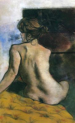 Рональд Китадж. Спина женщины