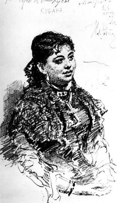 Ilya Efimovich Repin. Cubana
