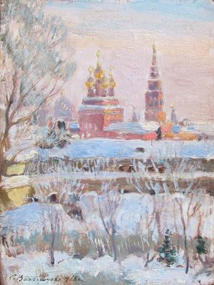 Сергей Арсеньевич Виноградов. Вид на Кадаши