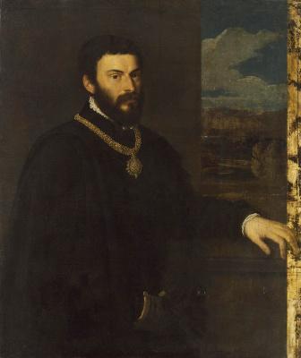 Тициан Вечеллио. Портрет графа Антонио Порчиа и Бругнеа