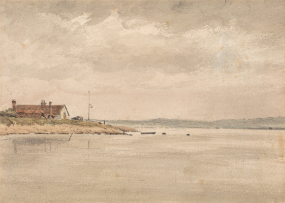 John Constable. View of orwell