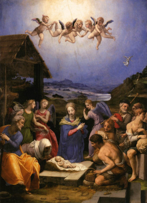 Agnolo Bronzino. Christmas Savior