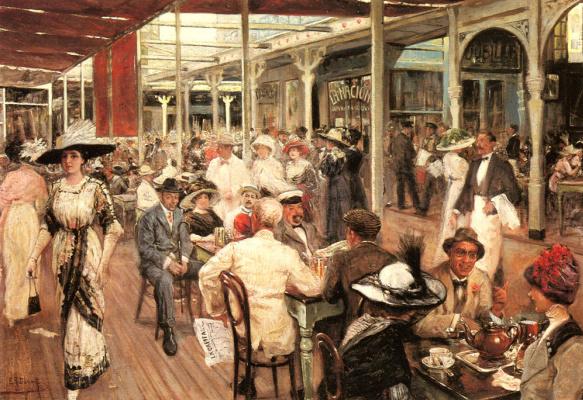 Еугенио Алварез Дюмон. Ресторан