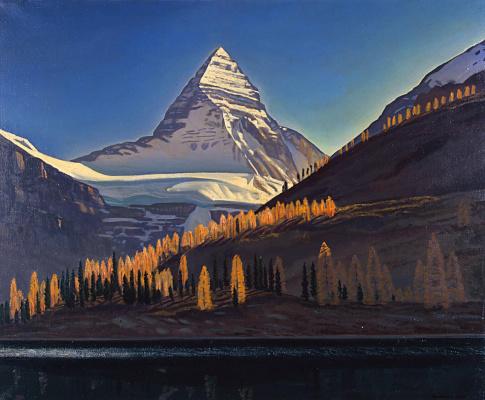 Рокуэлл Кент. Гора Ассинибойн. Канадские скалистые горы