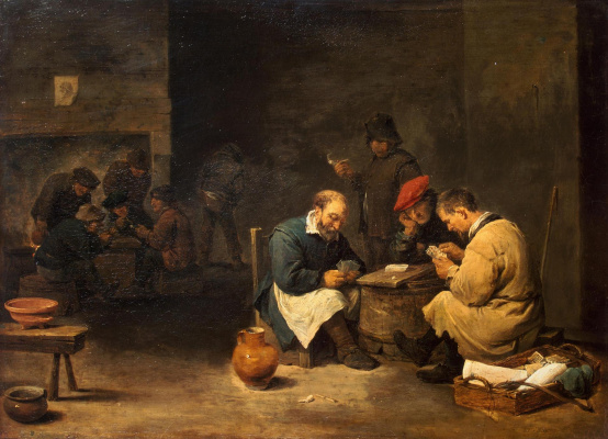 David Teniers the Younger. Card players