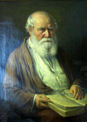 Pavel Alekseevich Vlasov. Portrait of the father of the artist