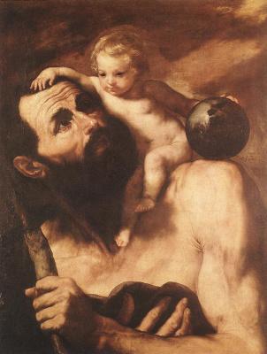 Jose de Ribera. Saint Christopher