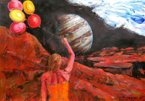 Шишкин  Н.В.. Восход Юпитера