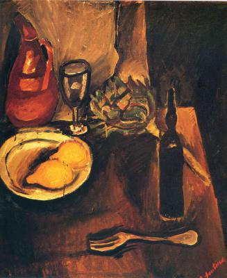 Хаим Соломонович Сутин. Натюрморт с лимонами