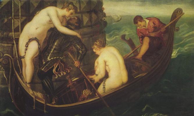 Jacopo Tintoretto. The Rescue Of Arsinoe