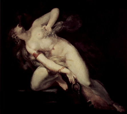 Johann Heinrich Fuessli. Sin pursued by death