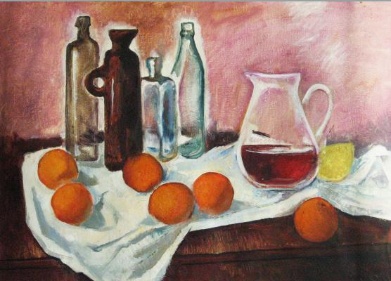 Александр Викторович Беляков. Oranges on pink