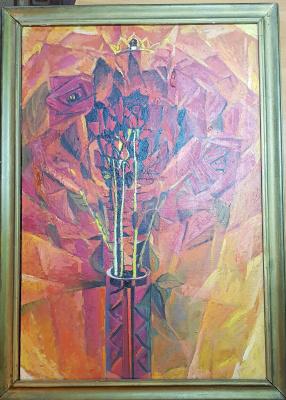 Yuri Semenovich Evseev. Roses