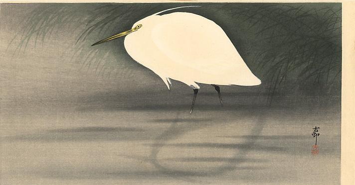 Ohara Koson. Bird 43