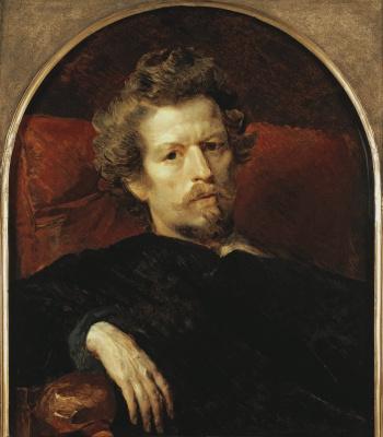 Karl Pavlovich Bryullov. Self-portrait