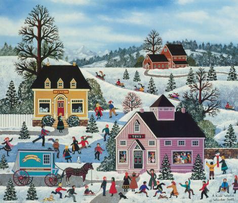 Джейн Вустер Скотт. Зима в городе