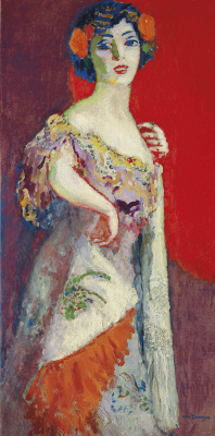 Kees Van Dongen. Portrait de Madame Malpel