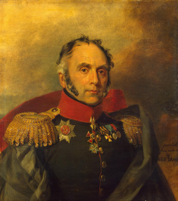 George Dow. Portrait of Peter Petrovich Schrader