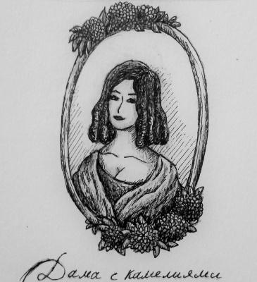 Zina Vladimirovna Parisva. The lady of the camellias