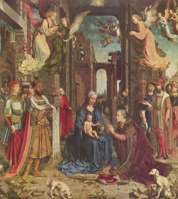 Ян Госсарт. Поклонение волхвов