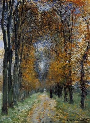 Claude Monet. Road
