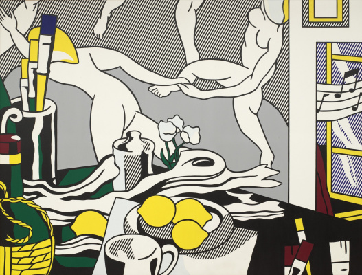 Roy Liechtenstein. The artist's Studio. Dance