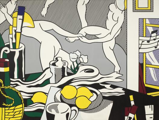 Roy Liechtenstein. The artist's Studio. Dance