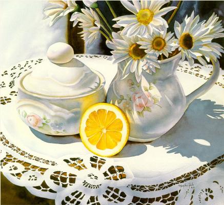 Моника Паштет. Лимон и кружева
