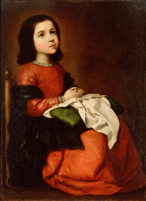 Francisco de Zurbaran. The Adolescence Of The Virgin