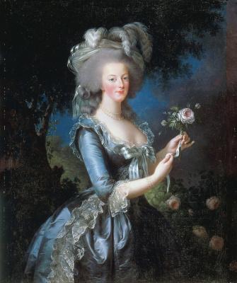 Элизабет Виже-Лебрен. Королева Франции Мария-Антуанетта