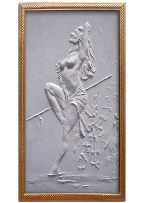 Ivan Alexandrovich Dolgorukov. Gipsowe panels Amazon