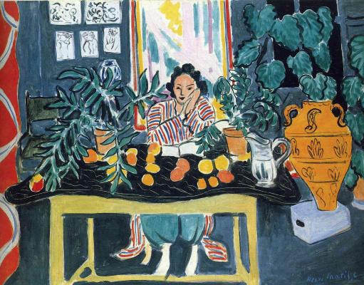 Henri Matisse. Lidia Nikolaevna Delectorskaya