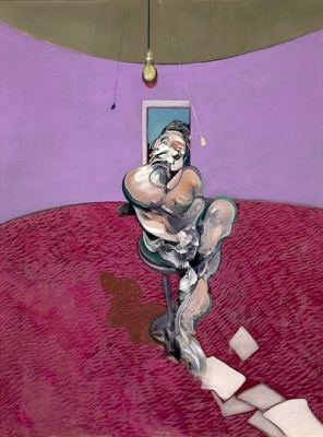 Francis Bacon. Portrait of George Dyer talking